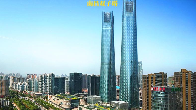 南昌路政工程项目-南昌最高塔双子塔喷泉灯800套